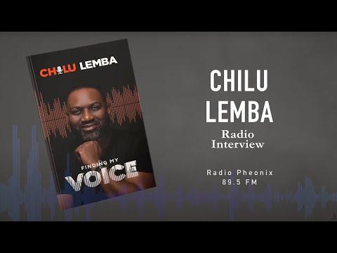 Chilu Lemba radio interview  with Luchi, on Phoenix FM, Zambia