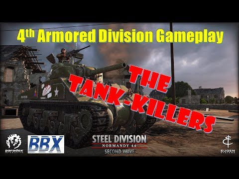 4th Armored | Steel Division Normandy 44 | 10v10 Gameplay