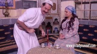 باب الحارة 9 ـ حيلة عصام لامه عشان التالفون   ميلاد يوسف   صباح جزائري