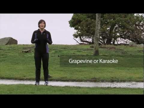 Running Drills:  Grapevine