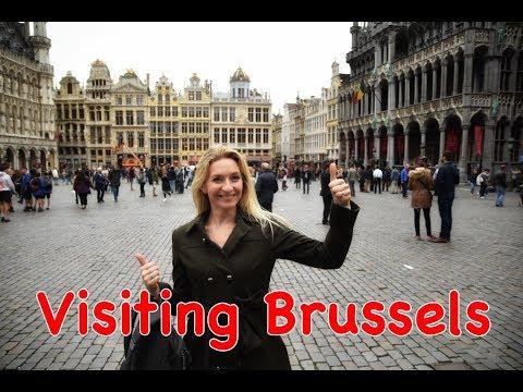 Visiting Brussels, Belgium in October - Vlog 10
