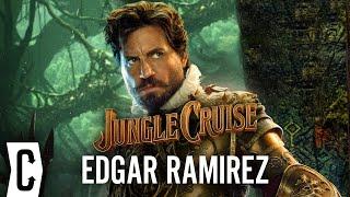 Jungle Cruise's Edgar Ramirez Reveals Fun Behind-the-Scenes Stories