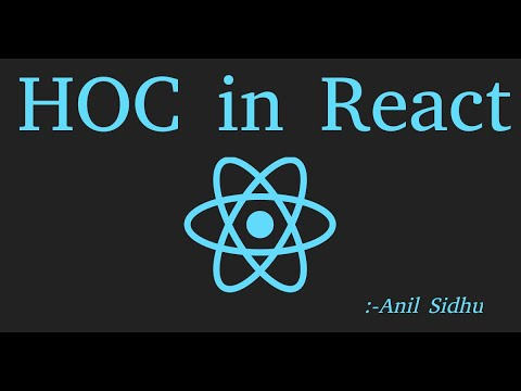 React js Tutorial #36 High order Component with example (HOC) thumbnail