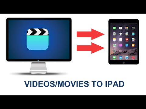 How To Transfer Videos/movies From Computer To IPad