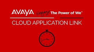 Embedding Avaya Collaboration Inside of Cloud Applications