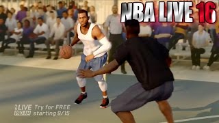 NBA Live 16 Pro AM Reveal Trailer / Street Ball