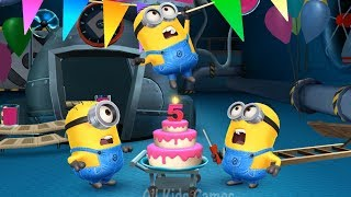 Despicable Me Minion Rush : 5 Year Celebration ! Version 6.1.0