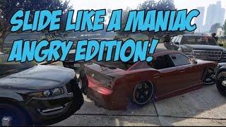Epic Police Chase Drift Mod GTA V PC Editor Cinematic Short Film  Buffalo S Drifting