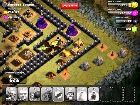 Clash Of Clans | Sherbet Towers V2 With TH7 Troops