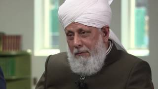 Khalifa of Islam interviewed by Peter Mansbridge of CBC News, Canada.