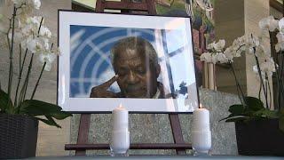 L'hommage de l'ONU Genève à Kofi Annan