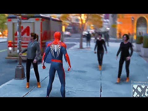 Spider-Man PS4 - 22 Minutes of Free Roam Open-World Gameplay (2018)