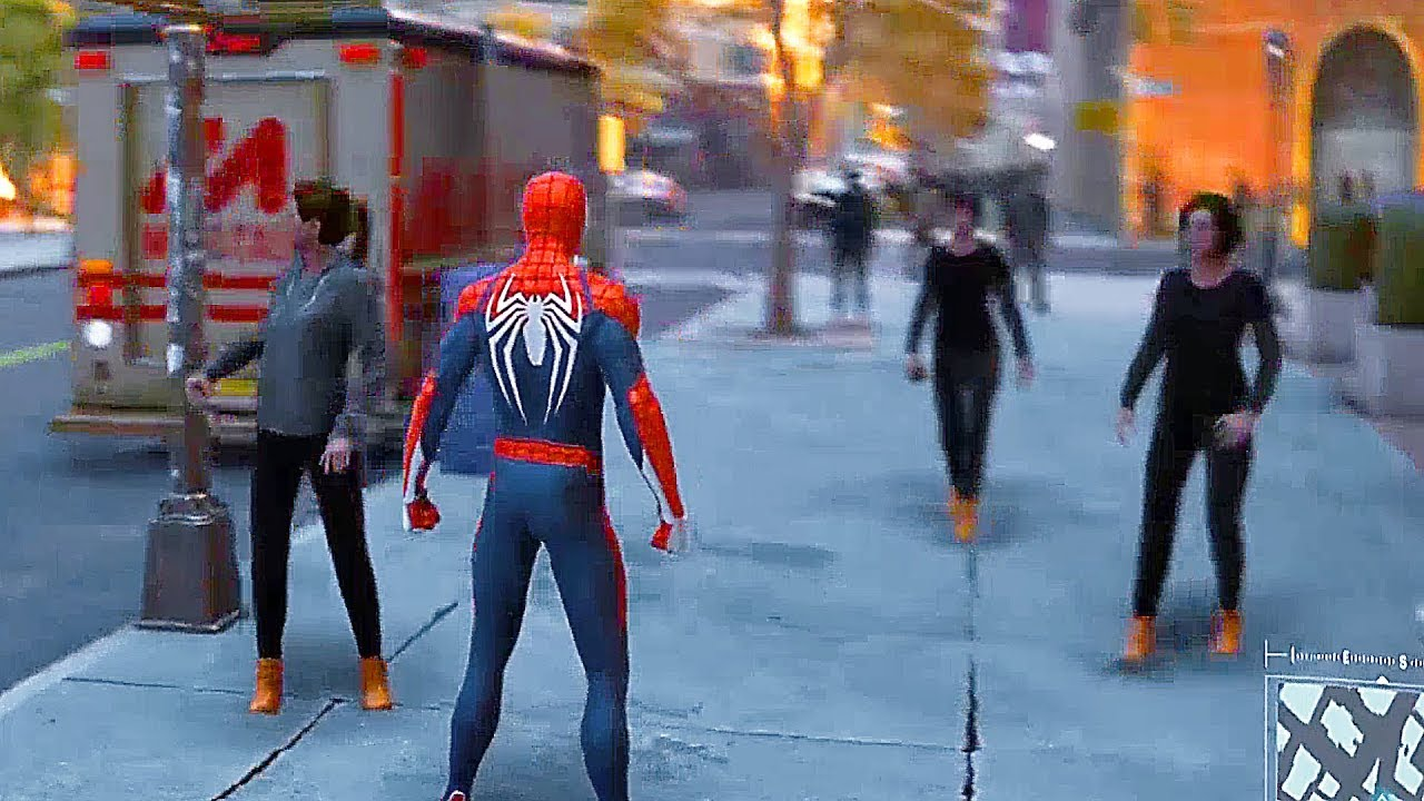 Spider Man Ps4 22 Minutes Of Free Roam Open World Gameplay 2018