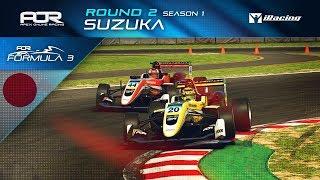 iRacing | AOR Formula 3 Championship | S1 | R2: Suzuka