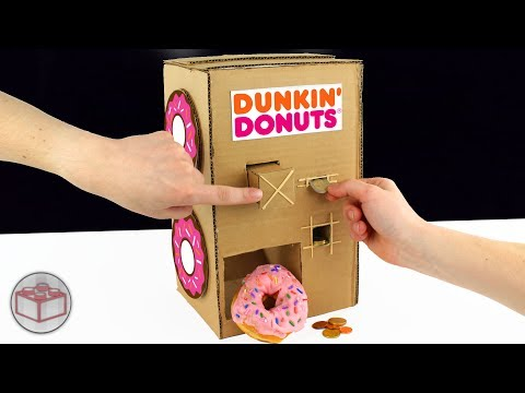 Thumbnail: How To Make A Dunkin' Donuts Vending Machine From Cardboard