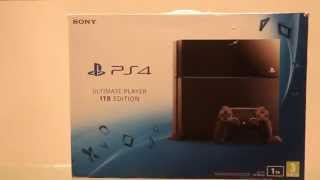 Sony PS4 1TB Ultimate Player Edition Unboxing