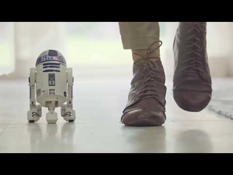 SPHERO R2-D2 Smart-robot / Robot connecté - Productvideo Vandenborre.be