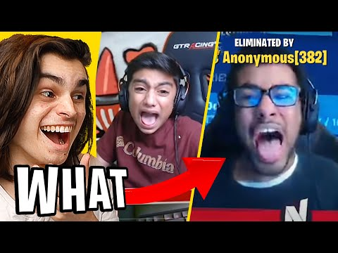 REACTING To Fortnite Stream RAGES 😭