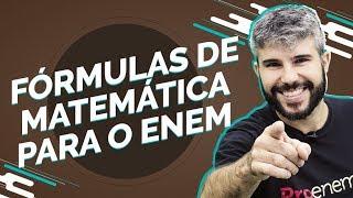 | LIVE | Fórmulas de Matemática para o Enem | Prof. Diego Viug