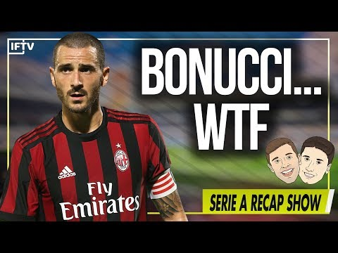 What's wrong with Leonardo Bonucci at Milan? | Serie A Round 9 Review Show