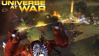 Beam Cannons - Universe at War: Earth Assault Multiplayer Gameplay