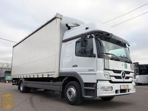 Продается Mercedes Atego 1229 шторный фургон из Германии