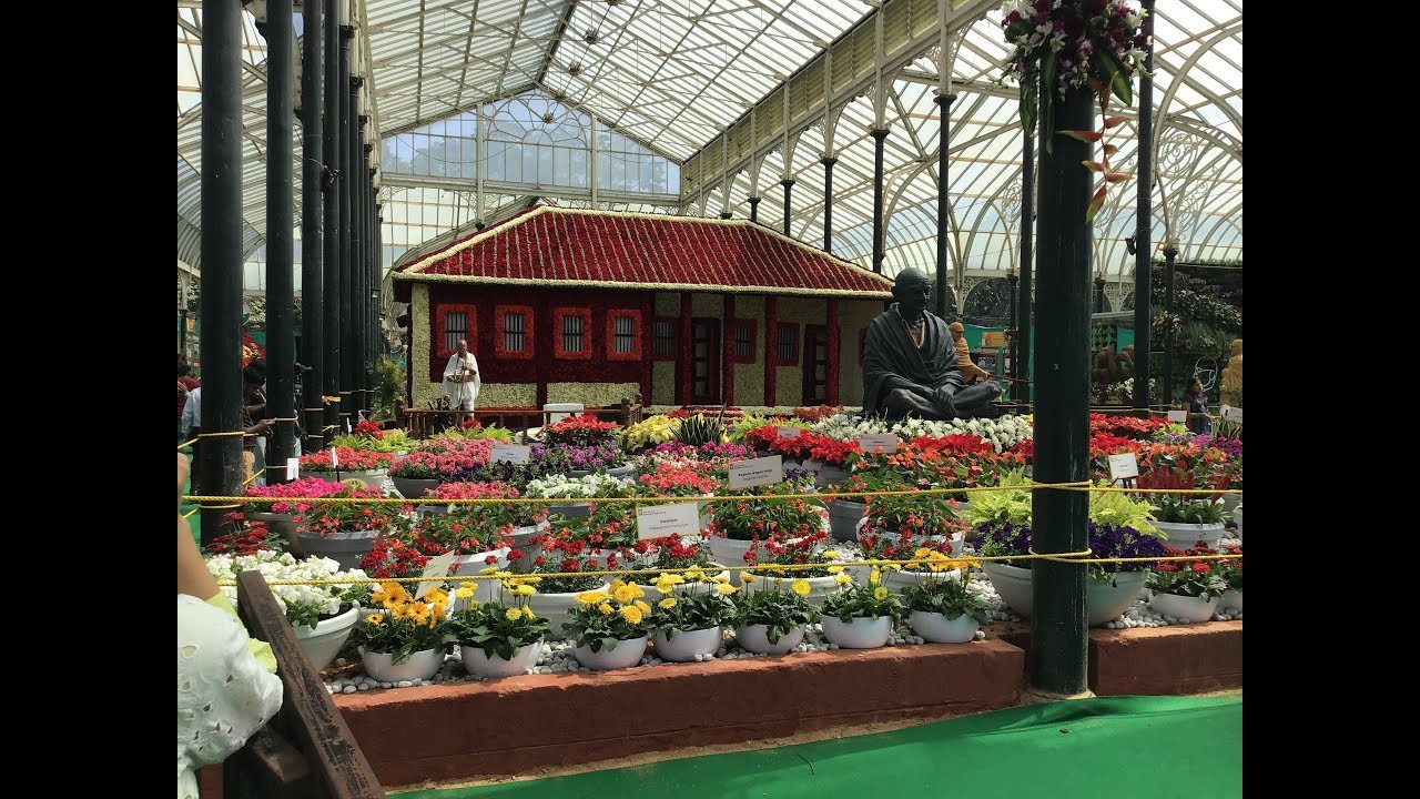 246a961c04dd Bangalore Lalbagh Flower Show 2019 Images (H D) - YouTube