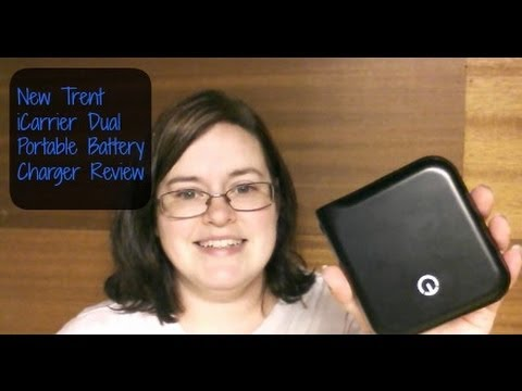 New Trent Icarrier Dual Portable Battery Charger Review