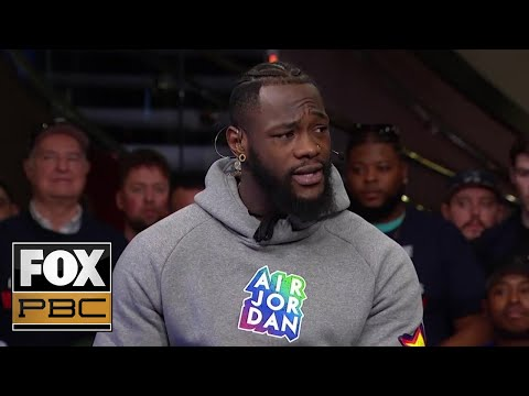 Deontay Wilder: 'I had to remind him... who brought him to big time boxing' | PBC ON FOX