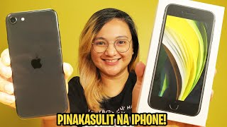 IPHONE SE 2020 UNBOXING - ANG PINAKASULIT NA IPHONE NA MABIBILI MO NGAYONG 2020!