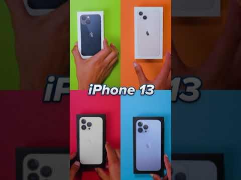 I got the iPhone 13!!