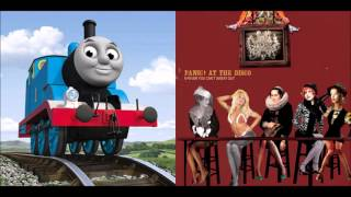 Thomas Writes Sins Not Tragedies - Thomas the Tank Engine vs. Panic! At The Disco (Mashup)