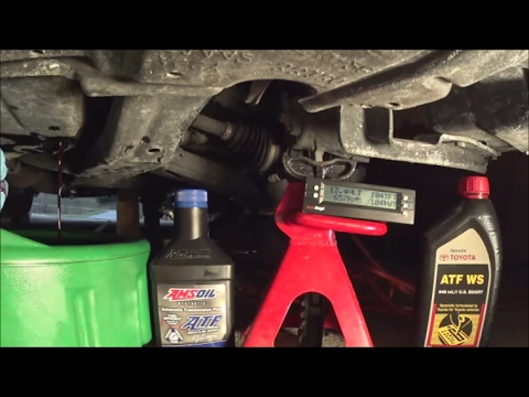 Automatic Transmission Fluid >> Simple way to check/replace WS ATF in TOYOTA/LEXUS using ...