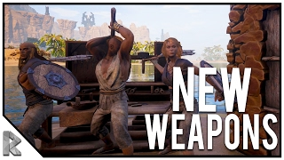 NEW Weapons, Armor & Fights! - Conan Exiles Gameplay #3