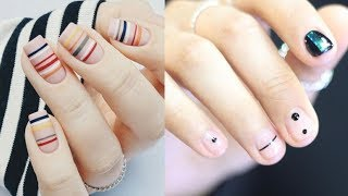 How to Do Simple Nail Art Designs?: Beginners Step by Step Tutorial #8