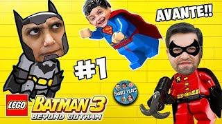 Vamos Jogar LEGO BATMAN 3 BEYOND GOTHAM! (Parte 1) Family Plays