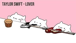 "Bongo Cat - Taylor Swift ""Lover"" (Cat Cover)"