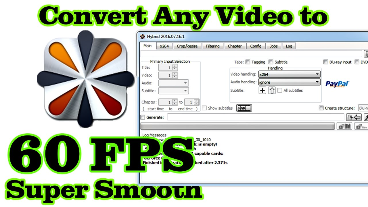 CONVERT ANY VIDEO TO SUPER SMOOTH (60 FPS) VIDEO !!! - YouTube