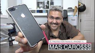 EL protector MAS CARO del mundo $645 dólares TITANIO GRADO 5 iPhone 7+