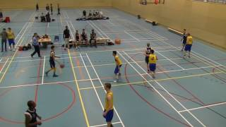 21 januari 2017 HBV The Jumpers U22 vs Rivertrotters U22 53-57 2nd period