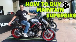 HOW MUCH MONEY YOU NEED TO OWN A SUPERBIKE (actual cost-down payment) Kawasaki Z900
