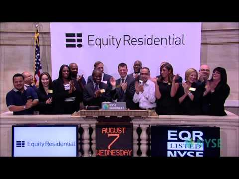 Equity Residential Celebrates 20 Years of Trading