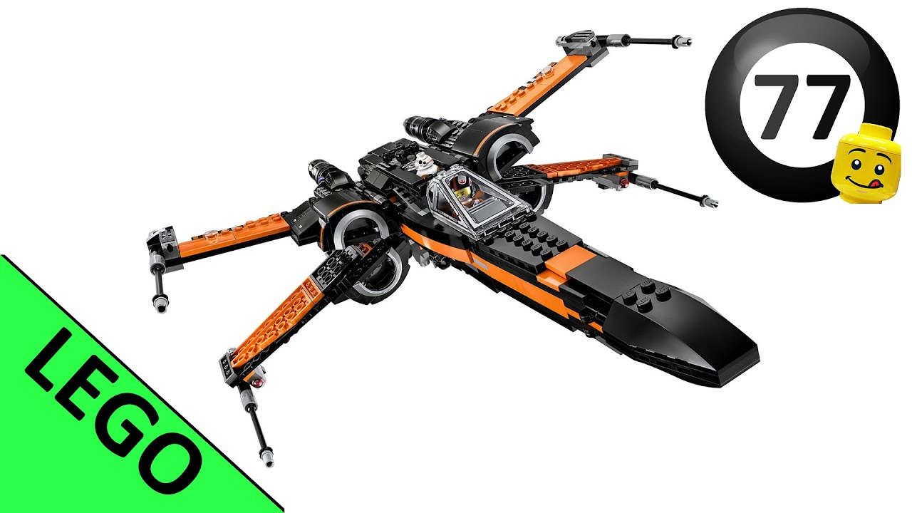 Lego star wars poe s x wing fighter review 75102 youtube - Lego Star Wars Poe S X Wing Fighter 75102 Lego Speed Build