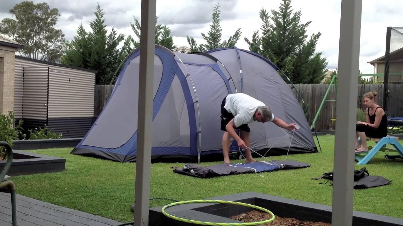 Diamantina Escape Duo Tent Assembly & Diamantina Escape Duo Tent Assembly - YouTube