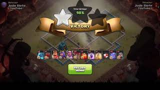 MAX TH12 GAMEPLAY   Clash of Clans Town Hall 12 Attacks  New CoC Troop Electro Dragon!