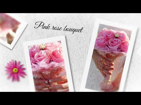 זרי פרחים עבודת יד מנייר לאירועים מיוחדים | Origami Flower bouquet | hand made Flower bouquet