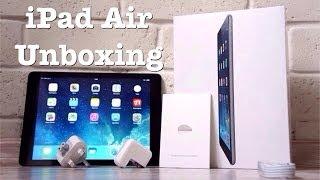 Распаковка или Unboxing iPad Air