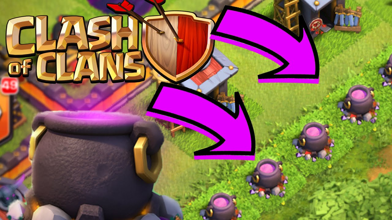 HOW TO SPAWN A CAULDRON! Clash of Clans - Get YOUR Cauldron EASY + ...