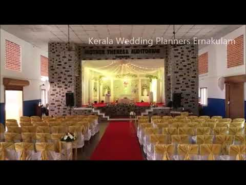 White Christian Wedding Stage Decoration On 15 11 18 At Mother
