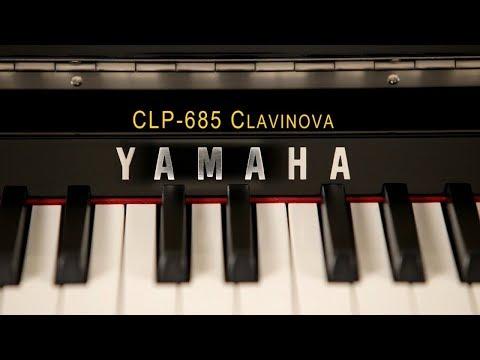 Yamaha Clavinova CLP-685 Digital Piano